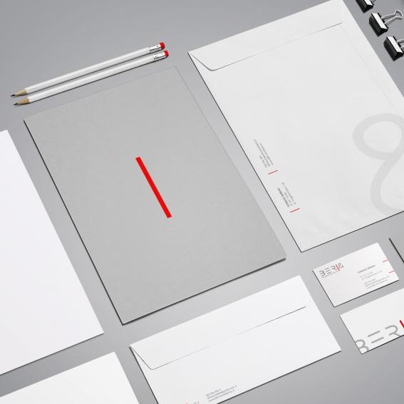 Projekt identyfikacji wizualnej dla architekta